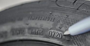 Vemos as medidas dos pneus.